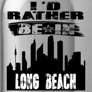 Gift Id rather be in Long Beach - Water Bottle