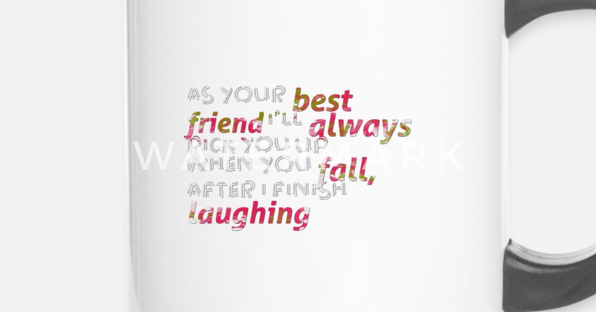 Als Je Beste Vriend Gezegden Funny Quotes Thermosbeker