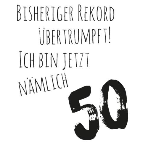 50er Geburtstag Cooler Spruch Thermobecher Spreadshirt