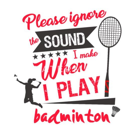 Sport De Chauve Souris Drole Cadeau Femme Badminton Mug Isotherme Spreadshirt