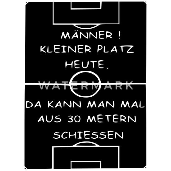 Fussball Trainer Spruch Lustig Geschenk Mannschaft Thermobecher Weiss