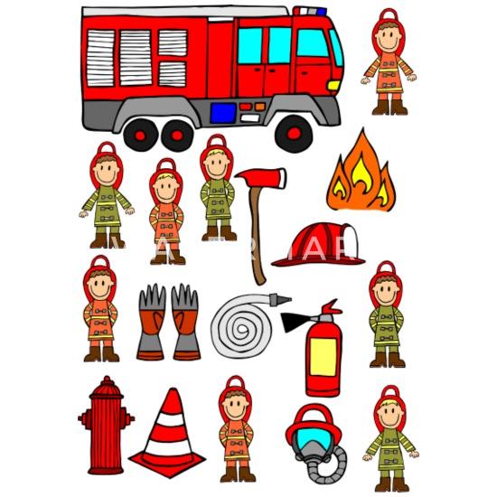 Bande Dessinee Dessin Anime Enfants Pompier Voiture Pompier Mug