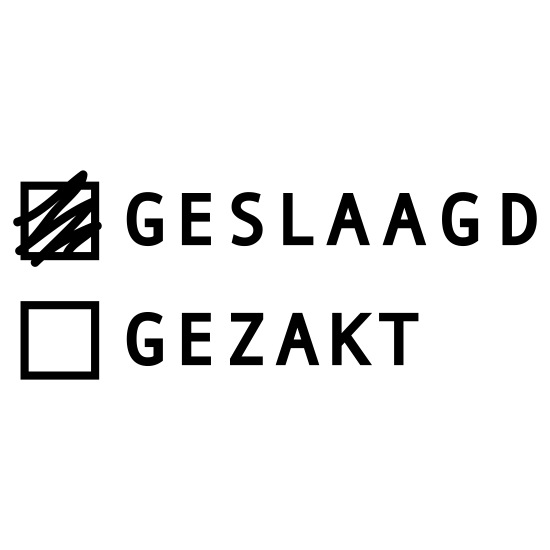 Geslaagd Examens Thermo Mok Wit