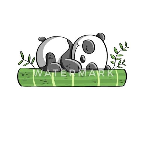 I Hate Mornings Bambus Panda Bar Comic Thermobecher Spreadshirt