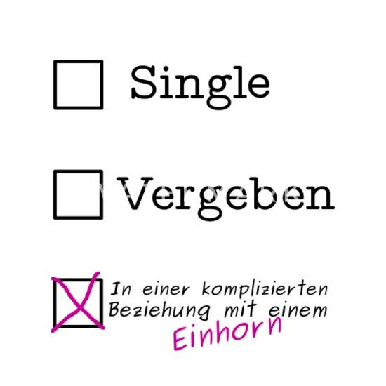 Status Spruche Komplizierte Liebe.Einhorn Spruch Beziehung Status Kompliziert Thermobecher Weiss