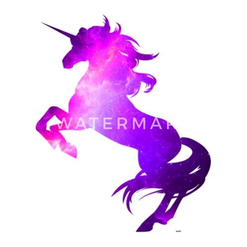 Einhorn Fantasie Typografie Unicorn Pferd Fabel Thermobecher