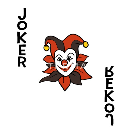 Joker Spielkarte Klassisch