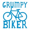 GRUMPY BIKER bicycle funny cycling - Kubek termiczny