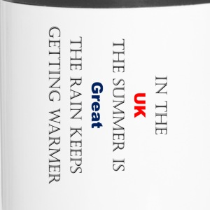 UK Weather Joke - Mug thermos