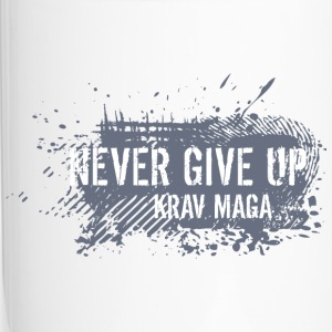 never give up - Tazza termica
