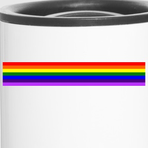 Band rainbow / Regenbogen-Band - Thermobecher