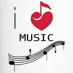 I_LOVE_MUSIC - Taza termo