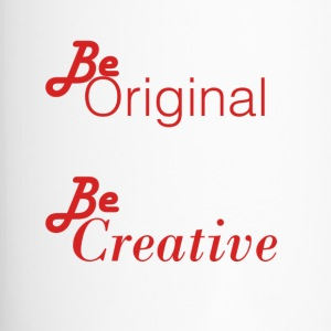 Be orignial, Be Creative Models - Travel Mug