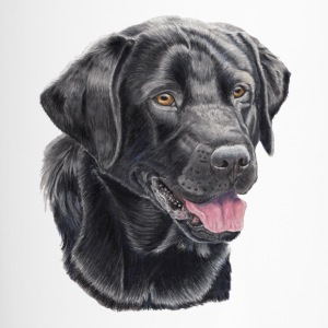labrador retriever kleur - Thermo mok
