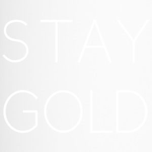 stay gold - Thermobecher