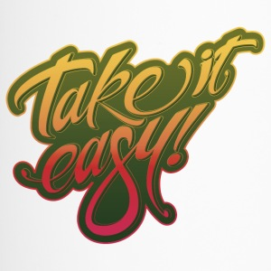Take it easy yellow-red - Thermobecher