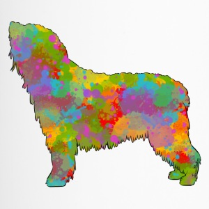 Spanish Water Dog Multicolored - Travel Mug
