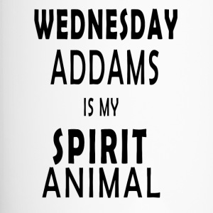 Wednesday Addams is mijn Geest Animal - Thermo mok