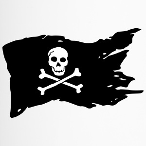 Jolly Roger (el color adaptable!) - Taza termo