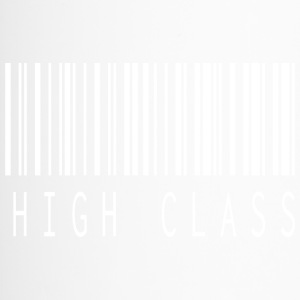 HIGH CLASS BARCODE WHITE - Travel Mug
