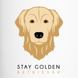 Golden Retriever - Mörk - Termosmugg