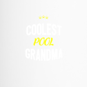 Distressed - COOLEST POOL GRANDMA - Thermobecher