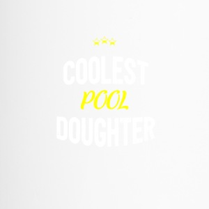 Distressed - COOLEST POOL DAUGHTER - Travel Mug