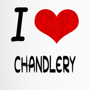 I Love Hobby Present bday CHANDLERY - Thermobecher