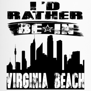 Gift Id rather be in Virginia Beach - Travel Mug