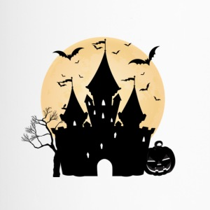 Haunted House camisetas de regalo de Halloween - Taza termo