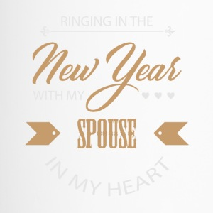 New Year's Eve New Year New Year's Bride Couple Love - Travel Mug