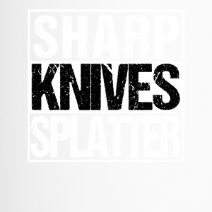 Sharp Knives Splatter Horrorfilm BMovie Jäger Koch - Thermobecher