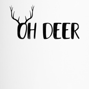 Oh Deer Ugly Christmas Design - Travel Mug