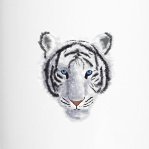 White Tiger - Travel Mug