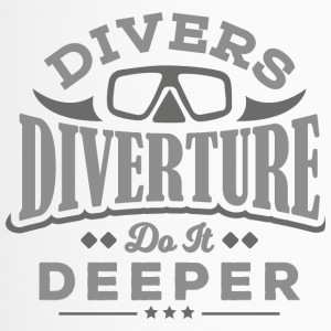DIVERTURE Divers do it deeper - Travel Mug