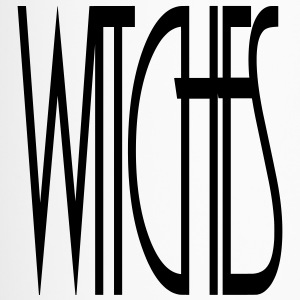 WITCHES Witch Statement lettering lettering - Travel Mug