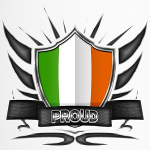Irland Flagge Wappen Proud 012 - Thermobecher