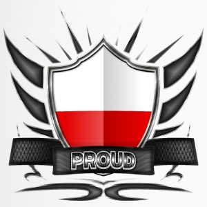 Polen Flagge Wappen Proud 012 - Thermobecher
