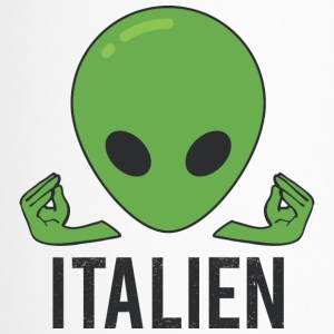 Italian Italy Alien - Travel Mug