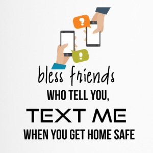 Bless those friends - Travel Mug
