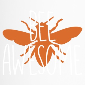 Bee awesome +GESCHENK+ - Thermobecher