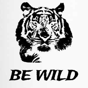 Be Wild! Black Edition - Thermo mok