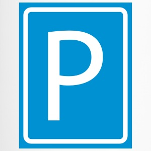 P Parking brief parkeerschijf parking 2c - Thermo mok