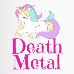 Death Metal Einhorn Unicorn - Thermobecher
