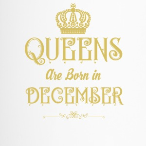 Queens Are Born In DECEMBER - Travel Mug