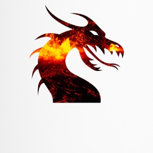 Dragon on fire - Travel Mug
