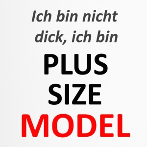 plus size model - Thermobecher
