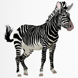 Zebra - Thermobecher