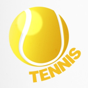 Tennis - Tennisball - Thermobecher