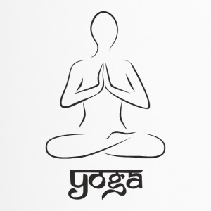 Yoga und meditation - Thermobecher
